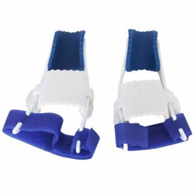Big Toe Bunion Straighteners Night Splint Hallux Valgus Pad Correctors Foot Care (White+Blue), A Pair of Pack