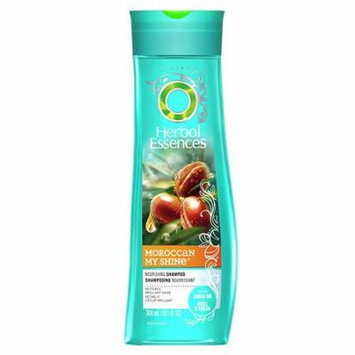 Herbal Essences Moroccan My Shine Nourishing Shampoo Argan Nut 10.1 oz.(pack of 4)