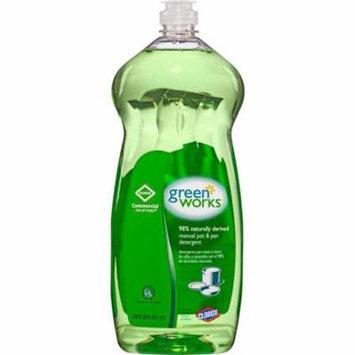 Green Works CLO30381CT 38 oz Pot & Pan Dish Liquid Detergent - Green