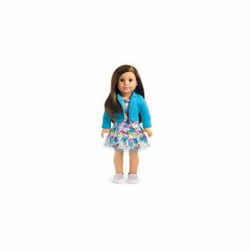 American Girl - 2017 Truly Me Doll: Brown Eyes, Layered Brown Hair, Light Skin Tone DN68
