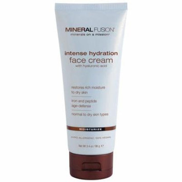 Mineral Fusion, Intense Hydration Face Cream, Moisturize, 3.4 oz(pack of 4)