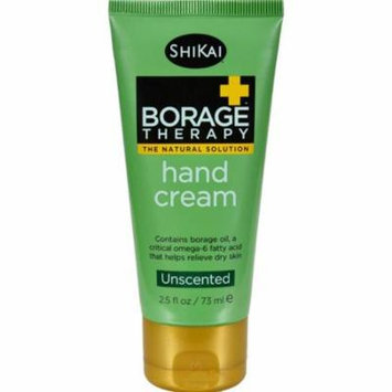 Shikai Products HG0262972 2.5 fl oz Borage Therapy Hand Cream - Unscented
