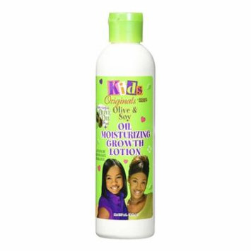Africas Best Kids Originals Olive And Soy Oil Moisturizing Hair Growth Lotion, 8 Oz, 3 Pack
