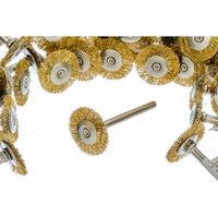 36 PC Brass Wire Wheel Brush 3/4