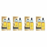 L'Oreal Paris Nutri Gold Extraordinary Facial Oil for Dry Skin, 1 Oz (Pack of 4) + Beyond BodiHeat Patch, 1 Ct