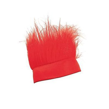 IN-13663070 Red Crazy Hair Headband RED By Fun Express