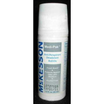 Antiperspirant / Deodorant McKesson Roll-On 1.5 oz. Fresh Scent ''1 Count'' 2 Pack