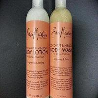 shea moisture organic coconut & hibiscus shea butter wash & lotion set