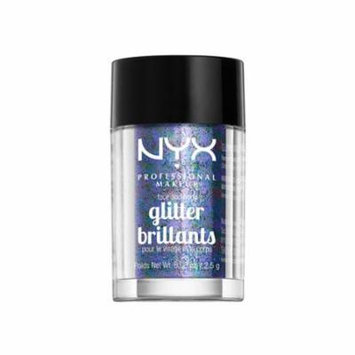 (6 Pack) NYX Face & Body Glitter - 11 Violet