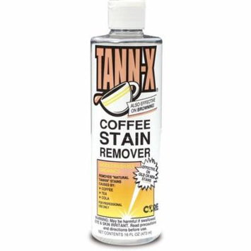 Core Products Tann-X Coffee Stain Remover, 16 oz Bottle, 12 Per Case