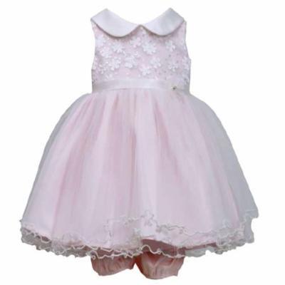Bonnnie Jean Newborn or Toddler Pink Sequin Party Dress SALE 3T