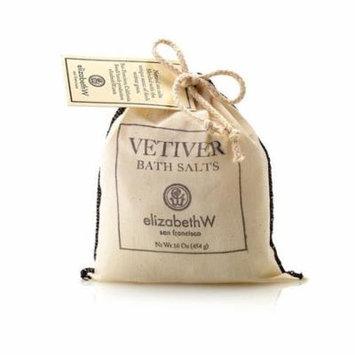 Elizabeth W Vetiver Bath Salts in Bag 16oz