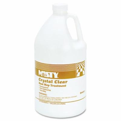 Misty 1003411 1 gal, Non-Oily - Crystal Clear Dust Mop Treatment, Grape Fruit Scent