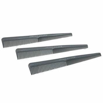 Dupont Starflite Barber Comb #55 - 3 Pack