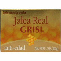 Grisi Royal Jelly Anti-Aging Herbal Soap, 3.5 oz (Pack of 4)