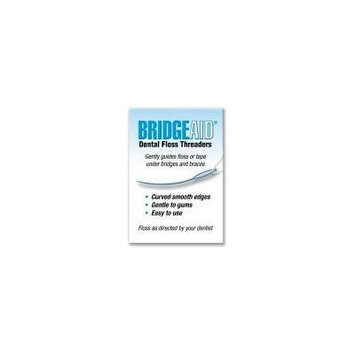 Flossaid TRP30 Bridgeaid Dental Floss Threader, 4 pack