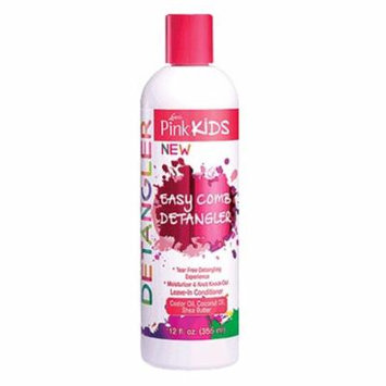 Lusters Pink Kids Easy Comb Detangler For Curliest Hair Types, 12 Oz, 3 Pack