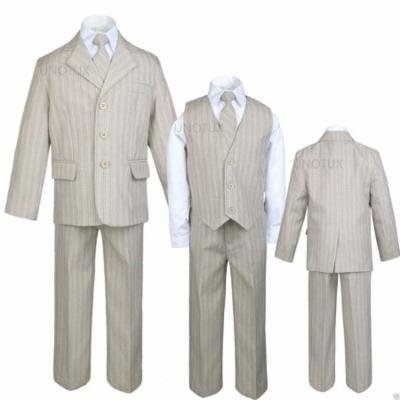 Infant,Toddler & Boy Wedding Formal Party Suit Taupe Khaki S-XL,2T,3T,4T,5,6,-20
