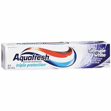 Aquafresh Ultimate Whitening Toothpaste 6oz Each