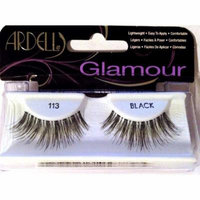 Glamour Lash-113 Black, 2 Pack, Ardell Glamour Lash-113 Black, 2 Pack By Ardell