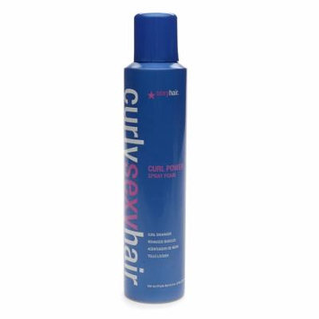 Sexy Hair Concepts Curly Sexy Hair Curl Power Spray Foam Curl Enhancer 8.4 oz.(pack of 2)