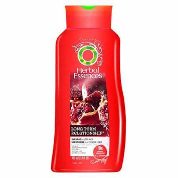 Herbal Essences Long Term Relationship Shampoo for Long Hair Juicy Pomegranate 23.7 oz.(pack of 4)