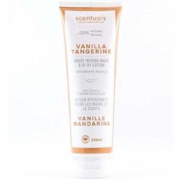 Scentuals Hand & Body Lotion 250 ml - Vanilla Tangerine