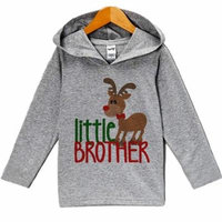 Custom Party Shop Baby's Little Brother Christmas Hoodie - 3T