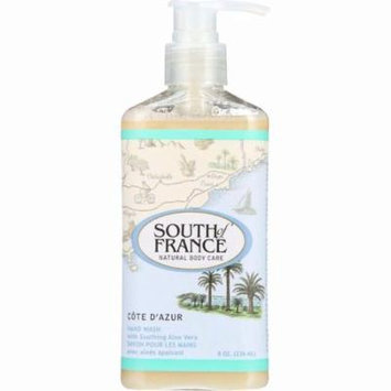 South Of France Hand Wash - Cote Dazur - 8 Oz - 1 Each