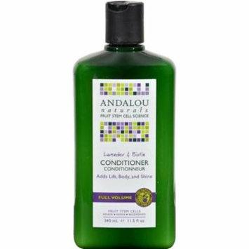 Andalou Naturals HG0785071 11.5 fl oz Full Volume Conditioner Lavender & Biotin