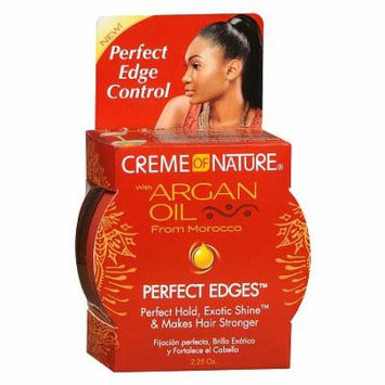 Creme Of Nature Perfect Edges Hair Gel 2.0 oz.(pack of 2)