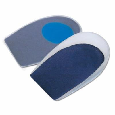 GelStep Medium-Recovery Heel Cup, Soft Center Spot, Covered, Large