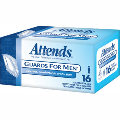 Attends guard for men part no. mg0400 (64/case)