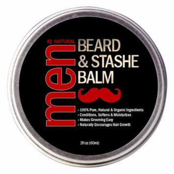 Beard Balm for Men Care - Leave in Beard Conditioner, Heavy Duty Beard Wax, Mustache Butter & Softener - for Styling, Shaping, Grooming & Growth