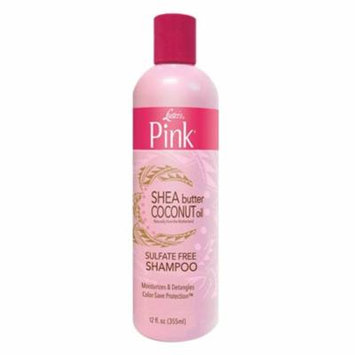 Lusters Pink Coconut Oil And Shea Butter Hair Shampoo, 12 Oz, 2 Pack