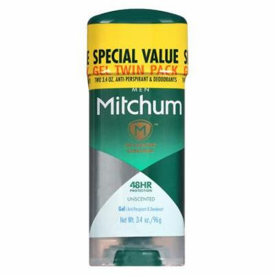 Mitchum Advanced Gel Anti-Perspirant & Deodorant For Men Unscented 2.0 ea(pack of 6)