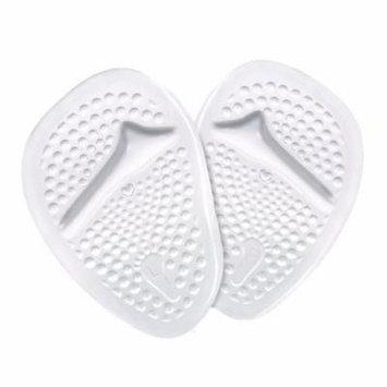 2 Pairs Yosoo Metatarsal Gel Pads Ball of Foot Cushions, Self-Sticking Forefoot Shoe Insoles for Women High Heels, Relieve Foot Pain