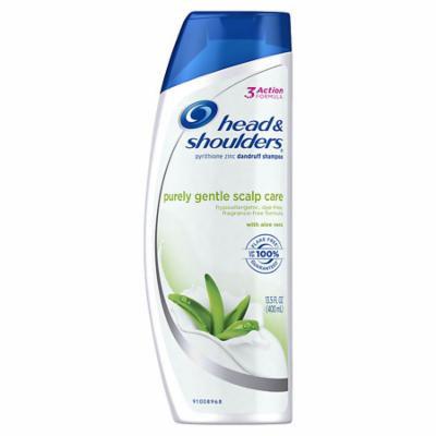 Head & Shoulders Purely Gentle Scalp Care Dandruff Shampoo 13.5 oz.(pack of 12)