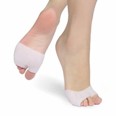 Unisex Foot Bunion Sleeves Forefoot Cushion Gel Half Toe Pads for Pain Relief