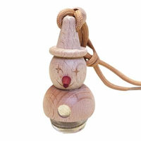 New Arrival Snowman Shape Perfume Bottle Modern Air Freshener Decoration Empty Bottle