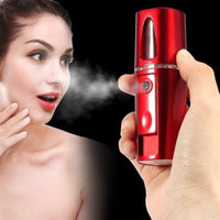 USB Portable Nano Mist Spray Face Facial Moisturizing Handy Atomization Mister