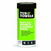 Federal Process 1595602 Tub O Towels Granite & Marble Wipes 40 Count