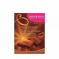 Bourjois Delice De Poudre Bronzing Powder for Women, No. 51 Peaux Claires/Medianes, 0.6 Ounce