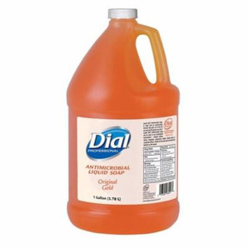 Dial Gold Antimicrobial Liquid Hand Soap, 1 Gallon, Classic Scent - 1 Each