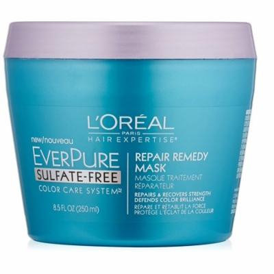 L'Oreal Paris Hair Care Expertise Everpure Repair and Defend Rinse Out Mask, 8.5 Fl Oz + Schick Slim Twin ST for Sensitive Skin