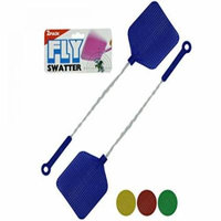 Fly Swatters With Wire Handles - Set of 24, [Household Supplies, Pest Control]