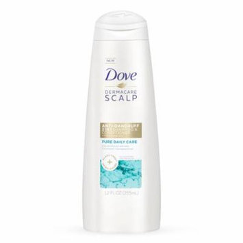Dove 2 in 1 Shampoo Conditioner Pure Daily Care 12.0 oz.(pack of 2)