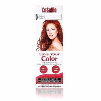 CoSaMo - Love Your Color Non-Permanent Hair Color 780 Auburn - 3 oz. + Beyond BodiHeat Patch, 1 Ct
