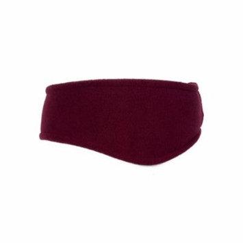 Port Authority Stretch Fleece Headband (C910) Maroon [Apparel]