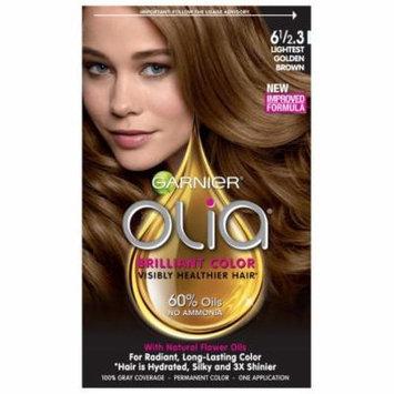Garnier Olia Permanent Haircolor, Lightest Golden Brown 1.0 ea(pack of 2)
